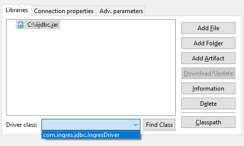How to install DBeaver and connect to an Actian Vector